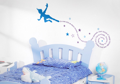 Never Never Land Wall Decal