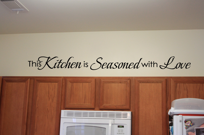 This Kitchen Seasoned Love Wall Decal