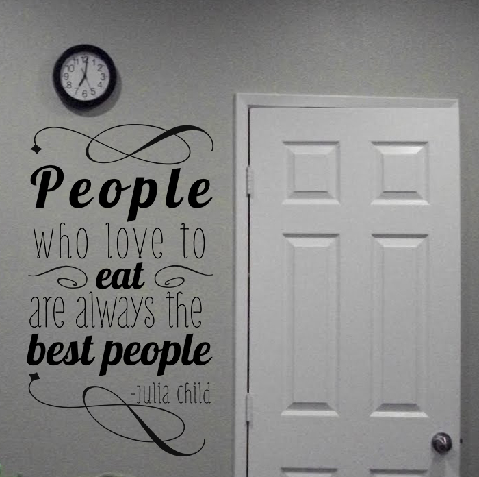 People Who Eat Wall Decal