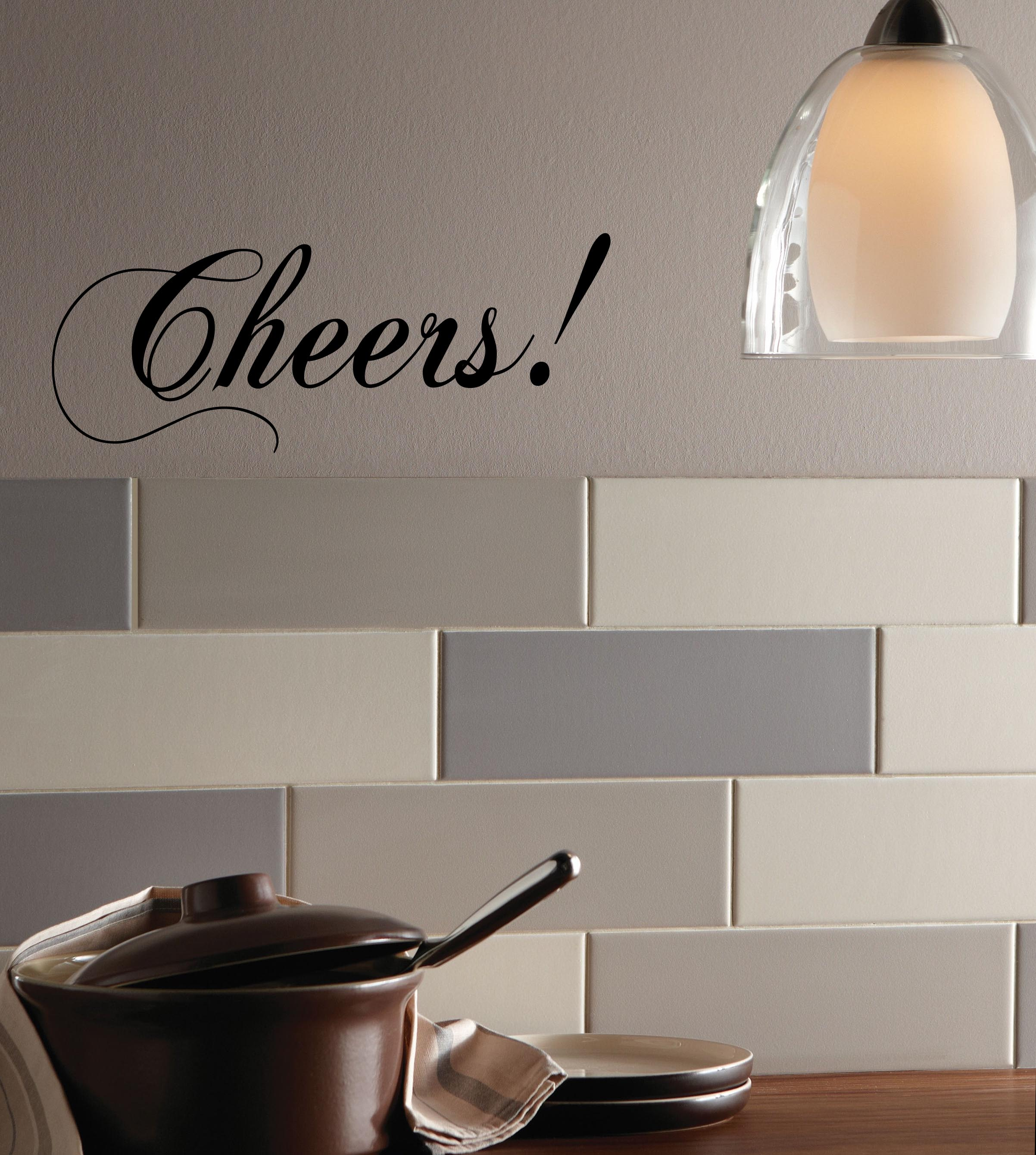 Cheers Wall Decal