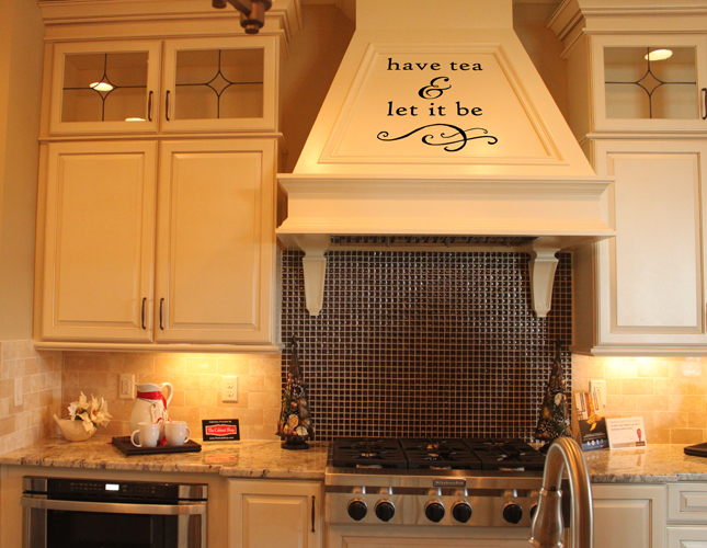 Have Tea Wall Decal