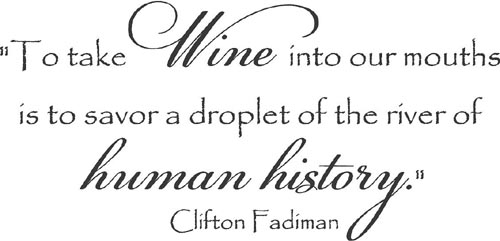 Wine Human History | Wall Decals