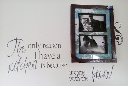 Kitchen Came With  House Wall Decal