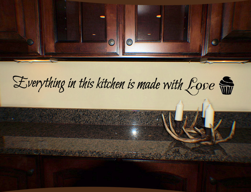 Made With Love Wall Decal