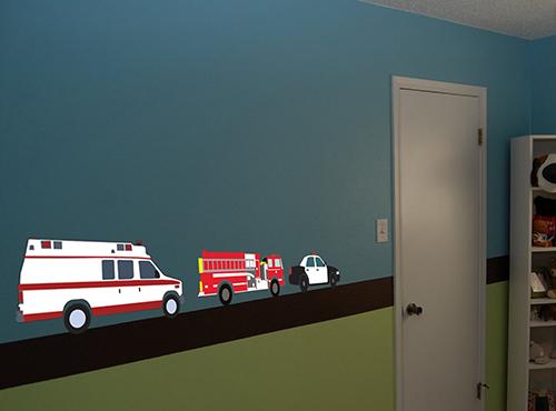 Emergency Responders Printed Decal
