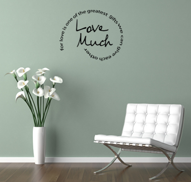 Love Much Wall Decal