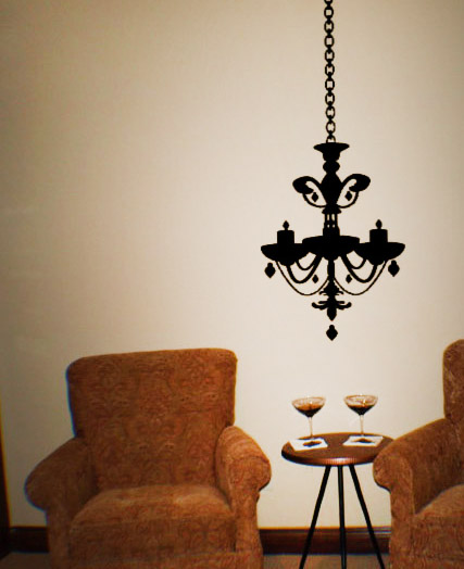Chandelier Style 4 Wall Decal
