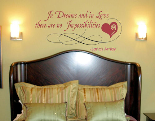 In Dreams Wall Decal