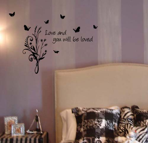 Love And Be Loved Wall Decal