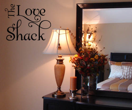 Love Shack Wall Decal