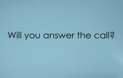Will You Answer The Call Wall Decal