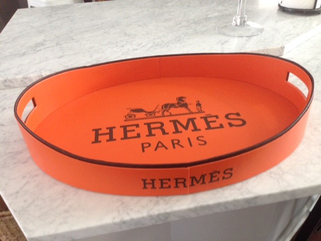 Hermes Logo Wall Decal
