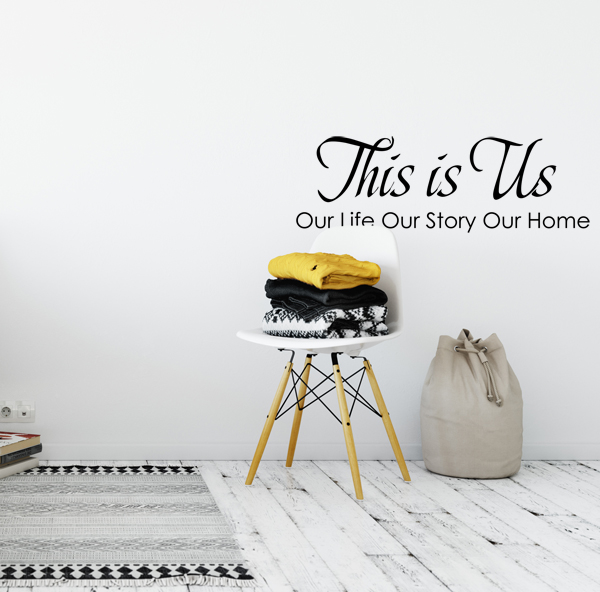 This is Us Decal