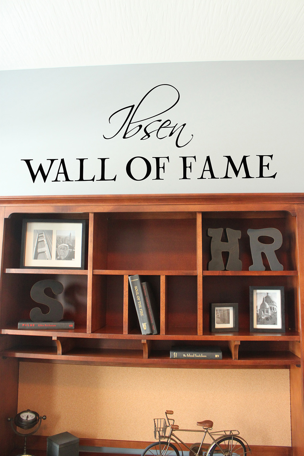 Script Name Wall Of Fame Wall Decal