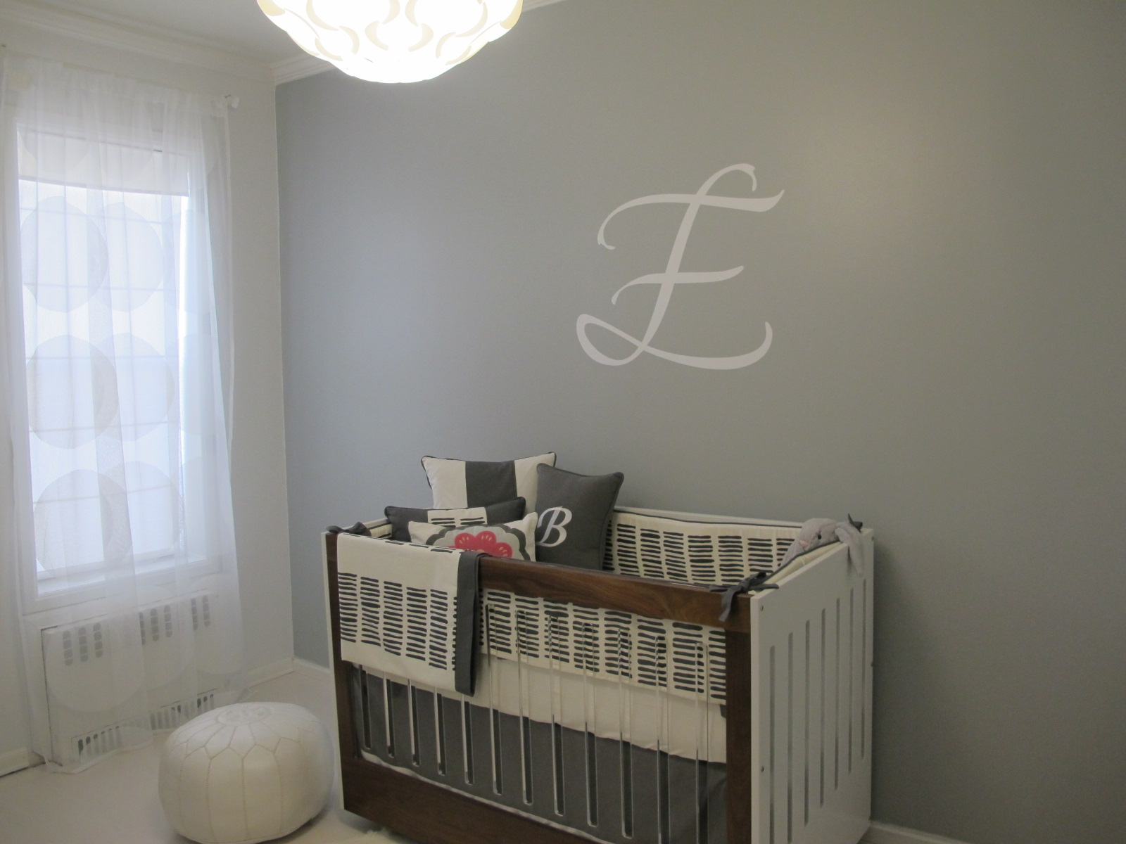 Single Initial Beau Rivage Wall Decal