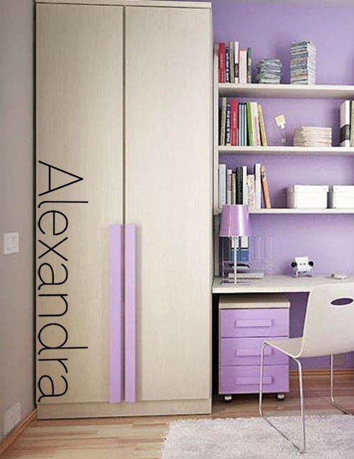 Los Niches Modern Name Wall Decal