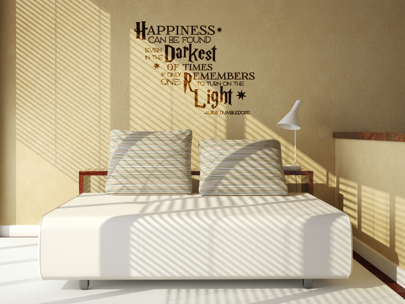 Happiness Can Be Found Wall Decal