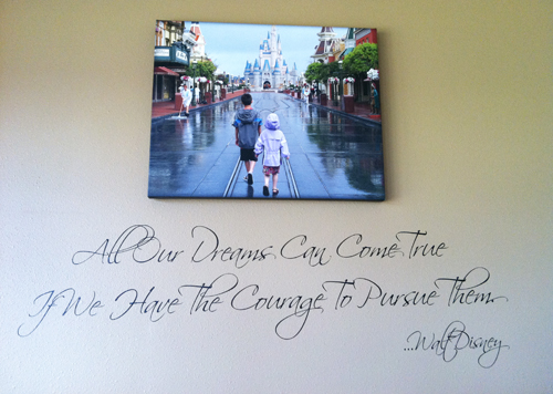 Dreams Can Come True Courage Wall Decal