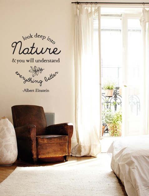 Deep Into Nature Wall Decal