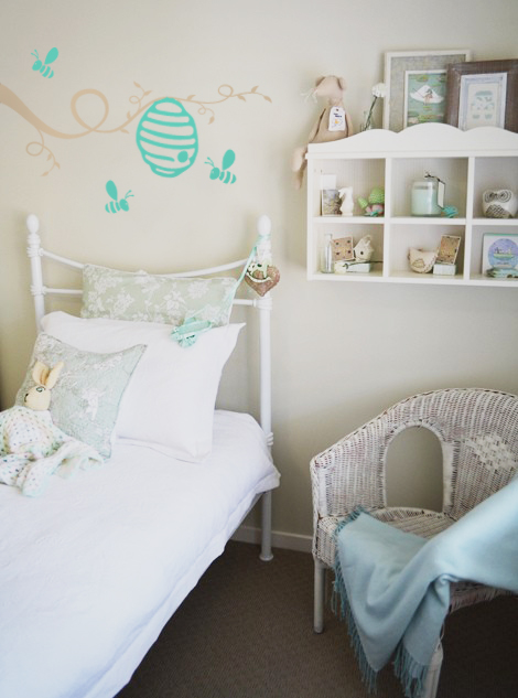 Beehive Branch Wall Decal