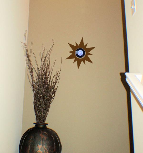 NEST Sun Burst Wall Decal