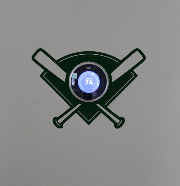 NEST Baseball Diamond Wall Decal