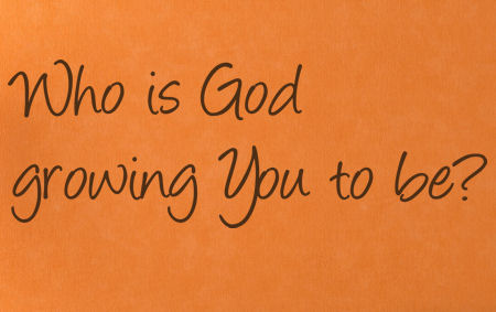 Who Is God Growing You Wall Decal