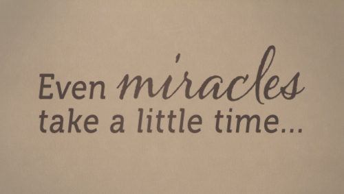 Even Miracles Decal