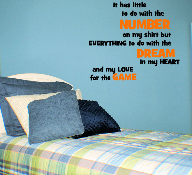 Dream in My Heart Wall Decal