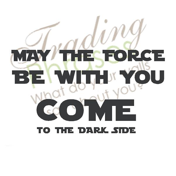 Force Dark Side Wall Decals