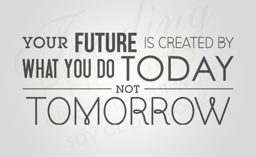 Your Future Horizontal Wall Decal