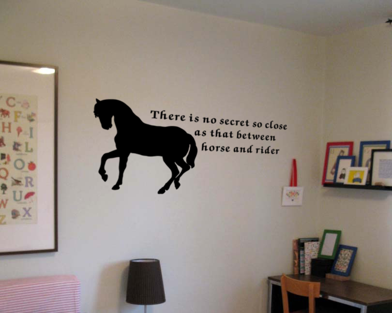 Horse And Rider Wall Decal