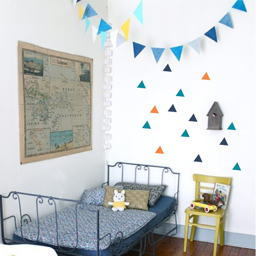 Triangle Pack Wall Decal