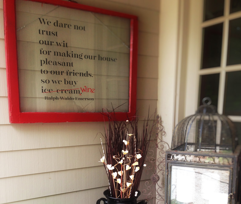 We Dare Not Trust Our Wit Wall Decal