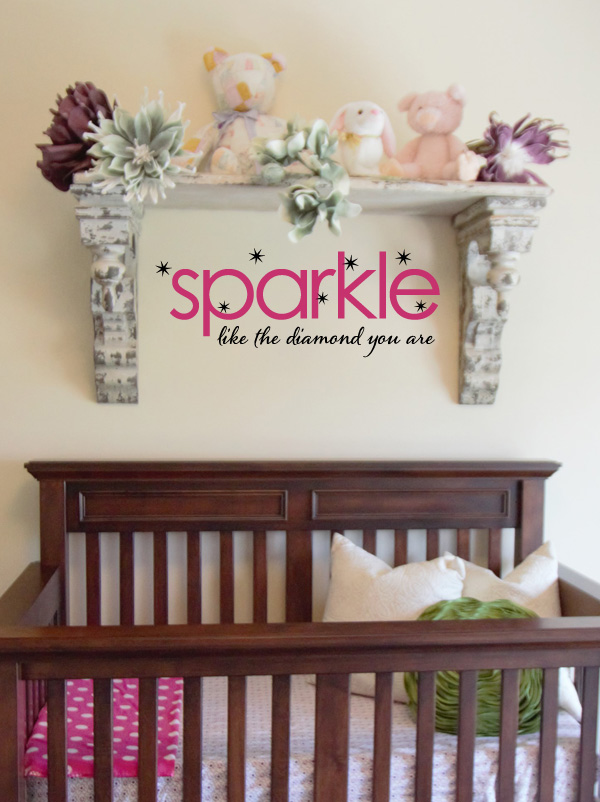 Sparkle Diamond Wall Decal