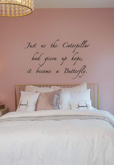 Became a Butterfly Wall Decal