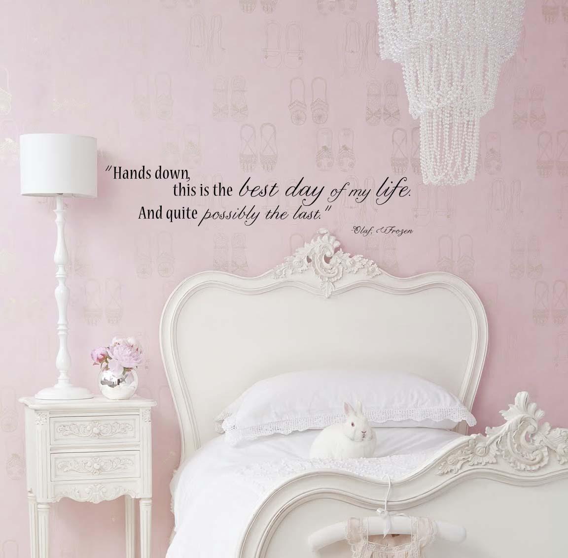 Frozen Olaf Quote Wall Decal Trading Phrases