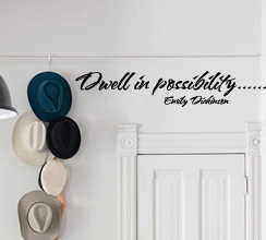 Emily Dickinson Quote Wall Decal