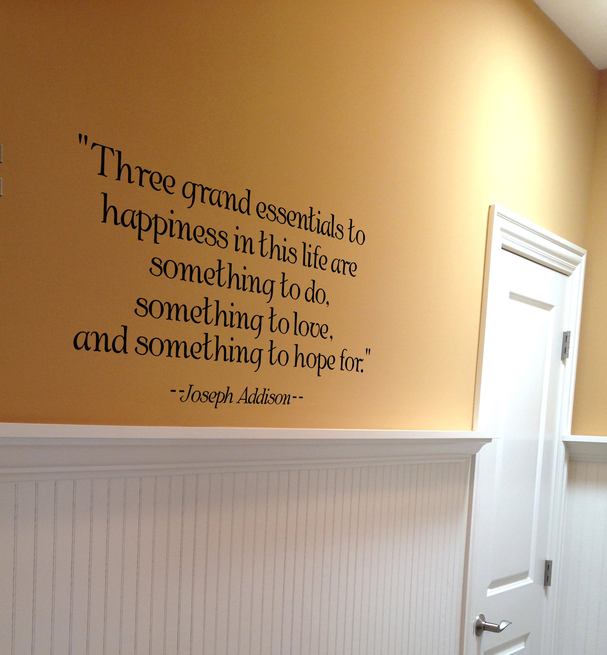Addison Quote Wall Decal