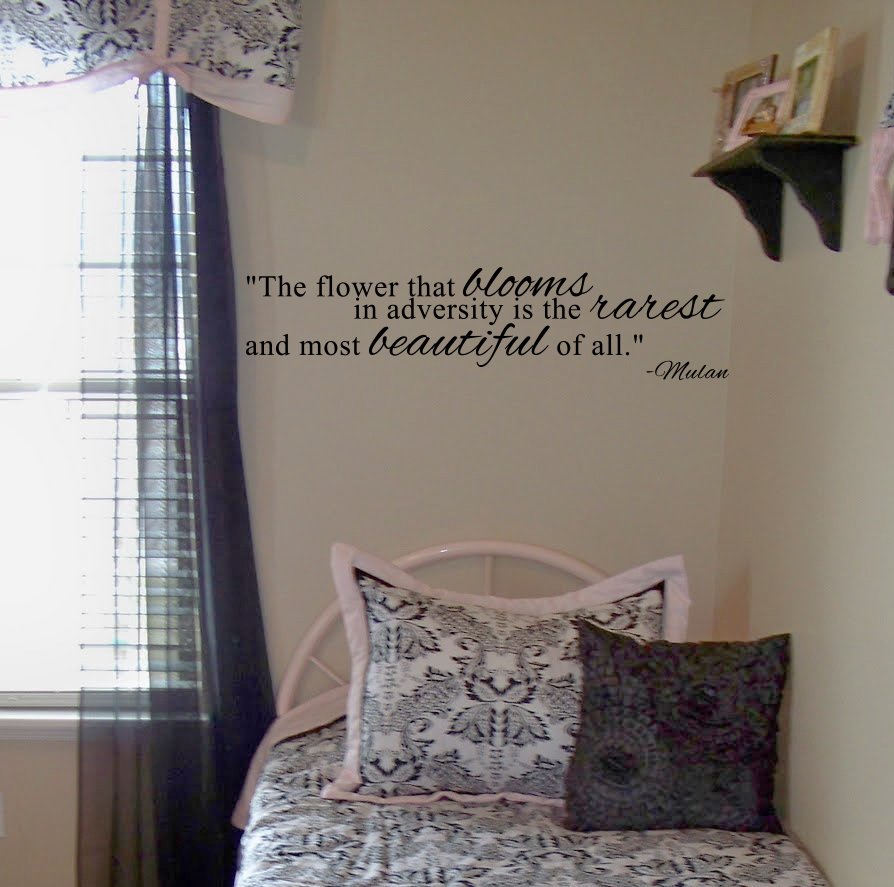Disney's Mulan Quote Wall Decal