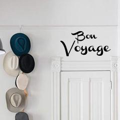 Bon Voyage Wall Decal