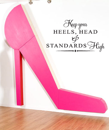 Head Heels Standards High Wall Decal