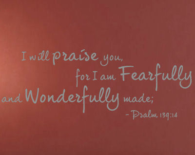 I Will Praise You Wall Decals
