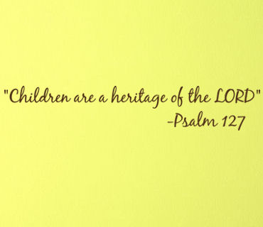 Children Heritage Of Lord Wall Decals