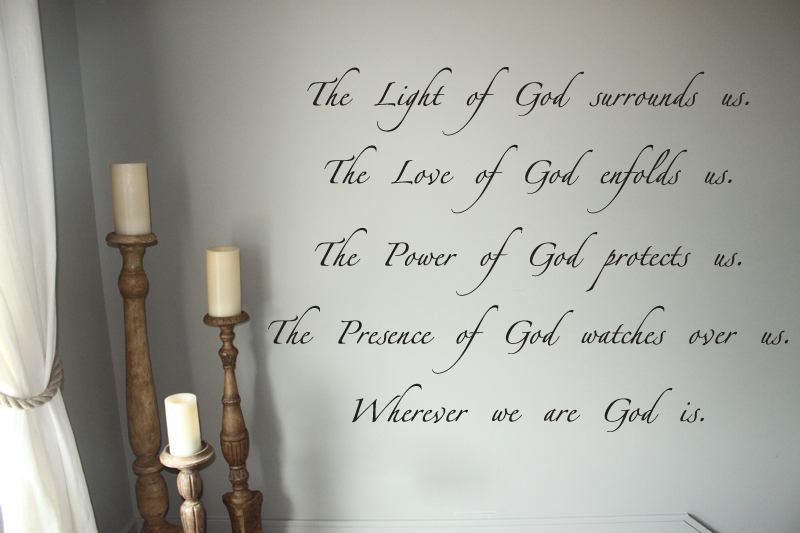 Light of God Wall Decal