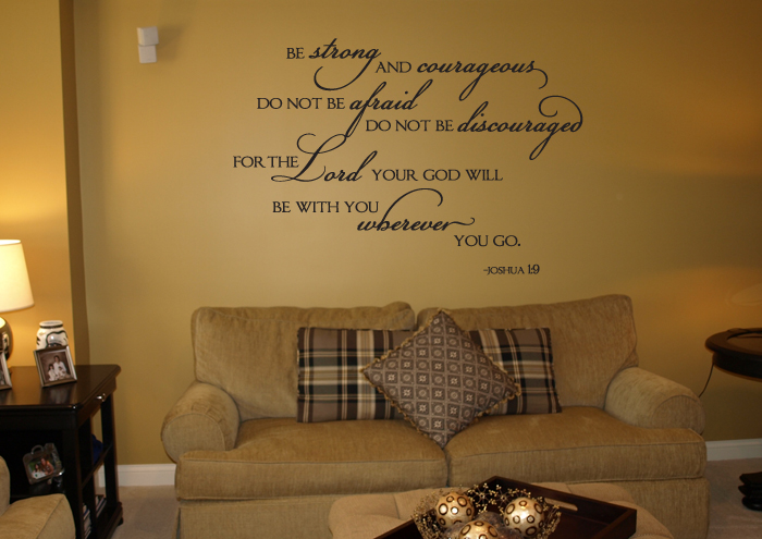 With You Wherever You Go Wall Decal