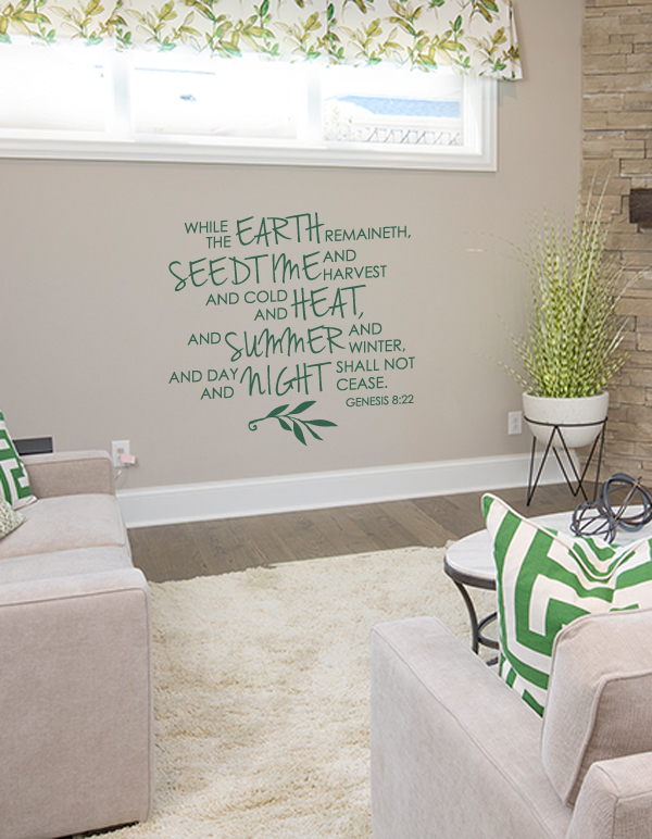 Genesis 8:22 Wall Decal