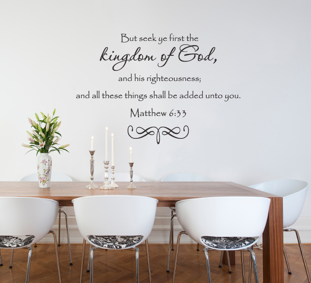 Kingdom of God Wall Decal