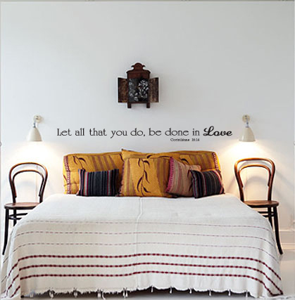 Done In Love Wall Decal