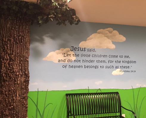 Matthew 19:14 Wall Decal